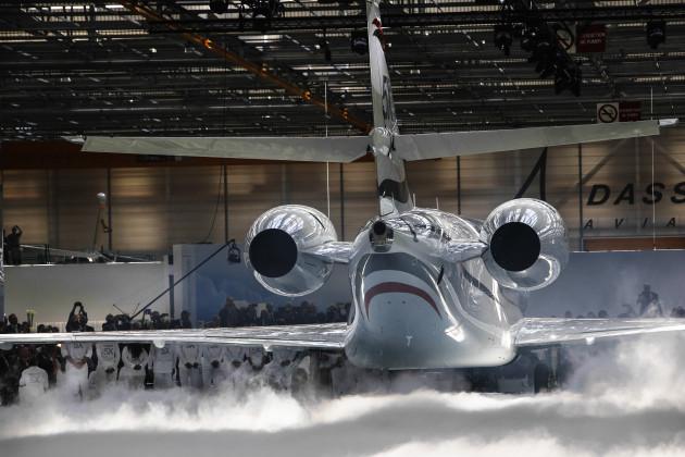 Dassault Falcon 5X Rollout