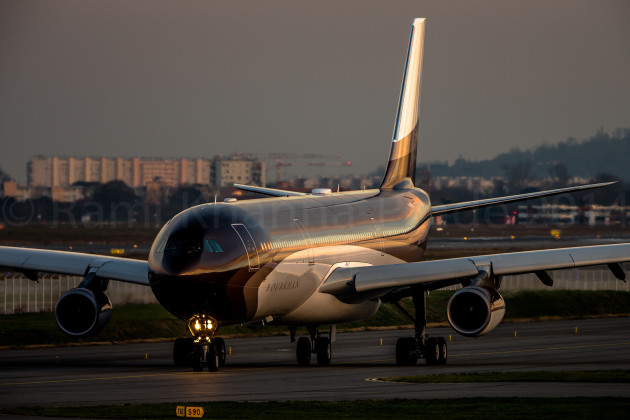 Airbus A340 300 owned by Alisher Usmanov