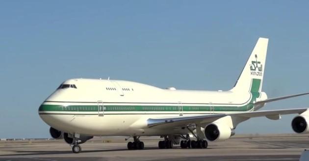 Boeing 747 400 owned by Prince Al Waleed bin Talal