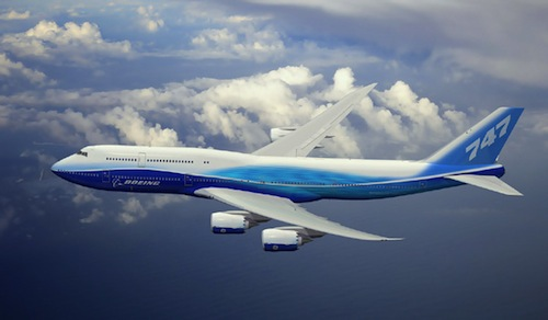 Boeing 747 81 VIP owned by Joseph Lau