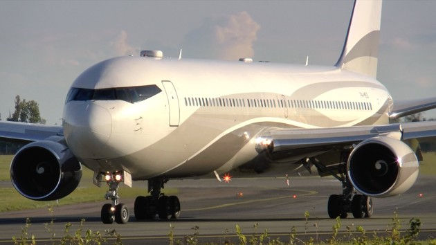 Boeing 767 33AER owned by Roman Abramovich