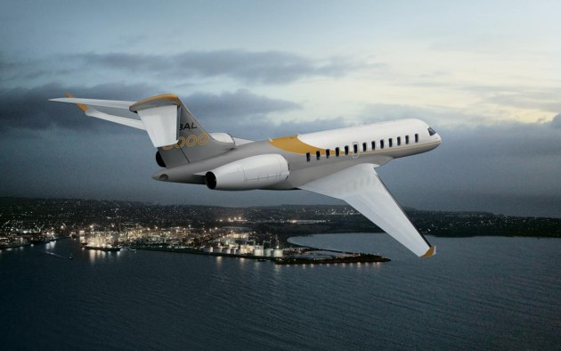 Bombardier Global 8000 long range business jet