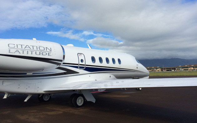 Cessna Citation Latitude in Hawaii