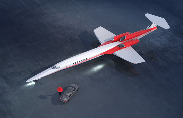 Aerion AS2 supersonic