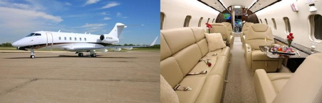 Challenger 300 one way charter rate available