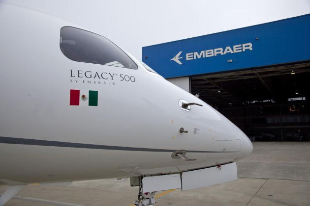Embraer Legacy 500 first in Mexico