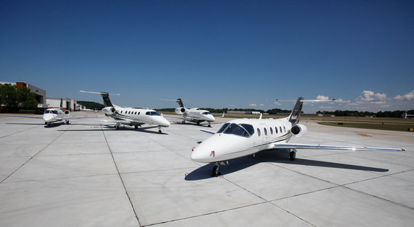 Fewer business jets were shipped in 2015