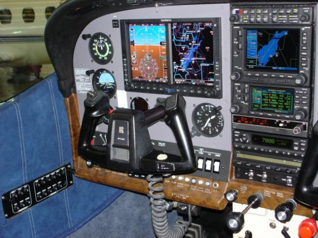 Garmin G600 cockpit Cessna Caravan
