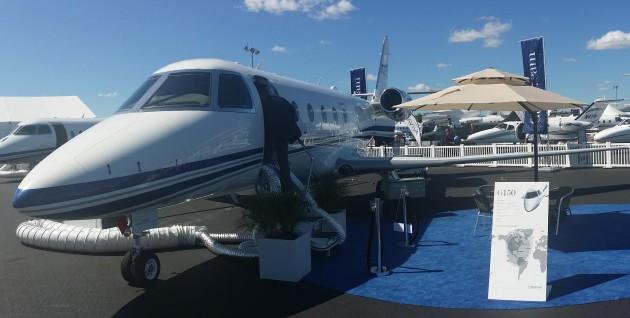 Gulfstream G150 at NBAA 2014