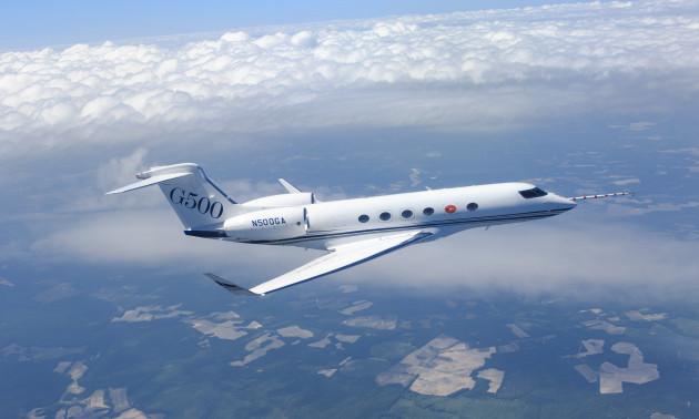 Gulfstream G500 Completes Five Flights