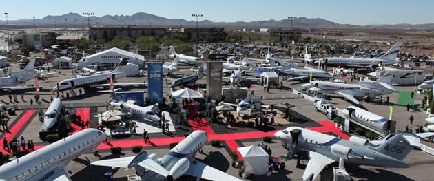 NBAA 2013 static display Las Vegas