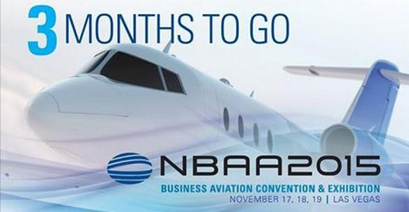 NBAA 2015 - 3 months to go