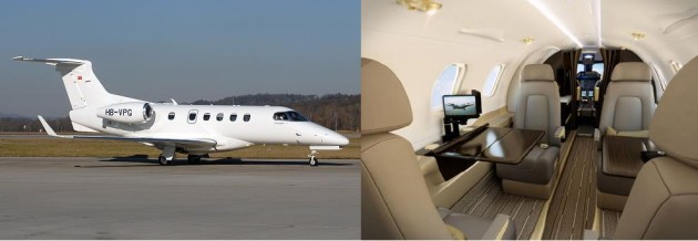 Embraer Phenom 300 one way charter rate