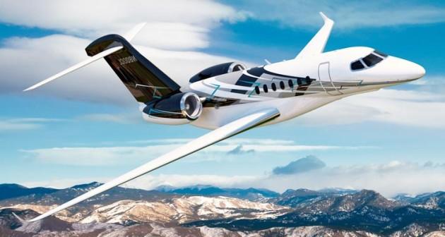 cessna-citation-latitude in flight