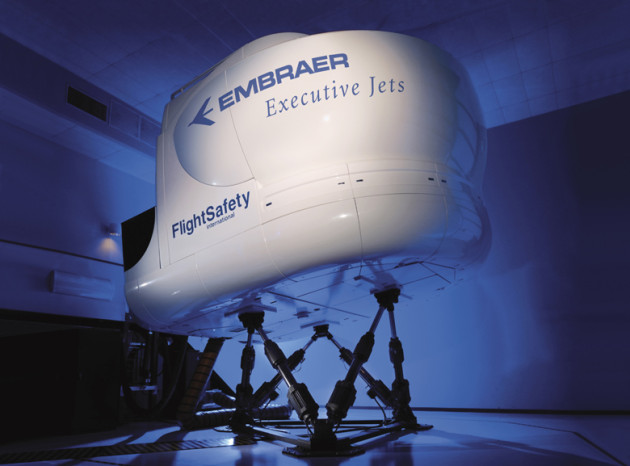 FlightSafety Embraer Legacy 650 Simulator