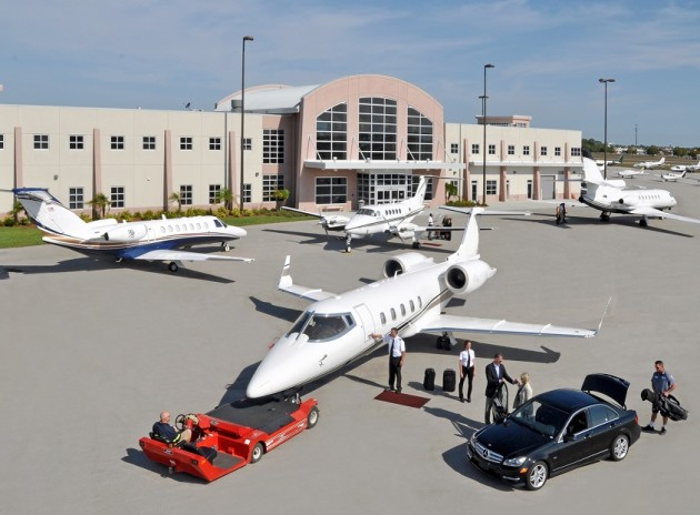 Board your private jet directly from your car