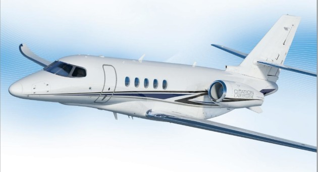 Cessna Citation Latitude begins Europe tour