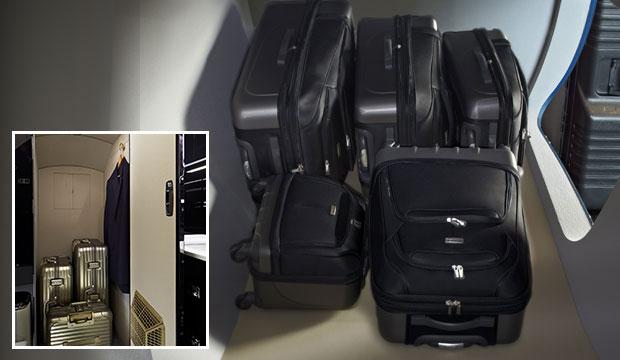 Private Jet Baggage Compartment