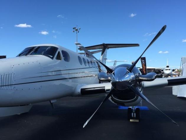 Beechcraft King Air 350i at NBAA 2014 JetOptions