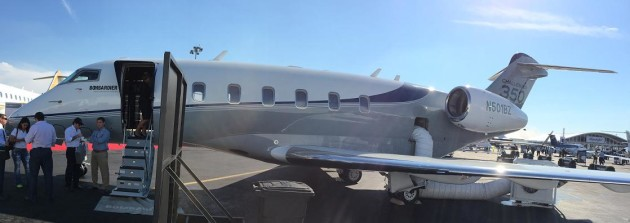 Bombardier Challenger 350 NBAA 2014 JetOptions