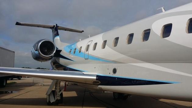 Embraer Legacy 650 at DAL