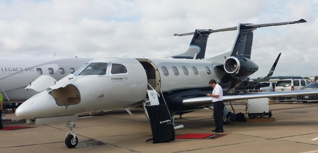 Embraer Phenom 300 is the most delivered business jet