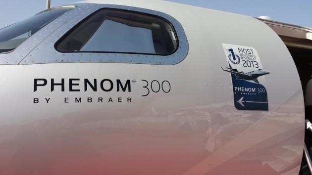 Embraer Phenom 300 most delivered