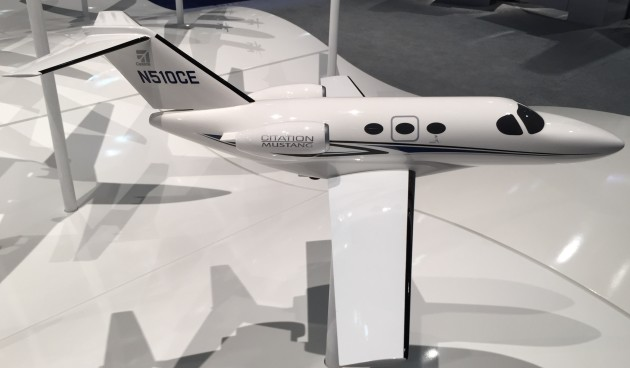 The Cessna Citation Mustang is a very light jet