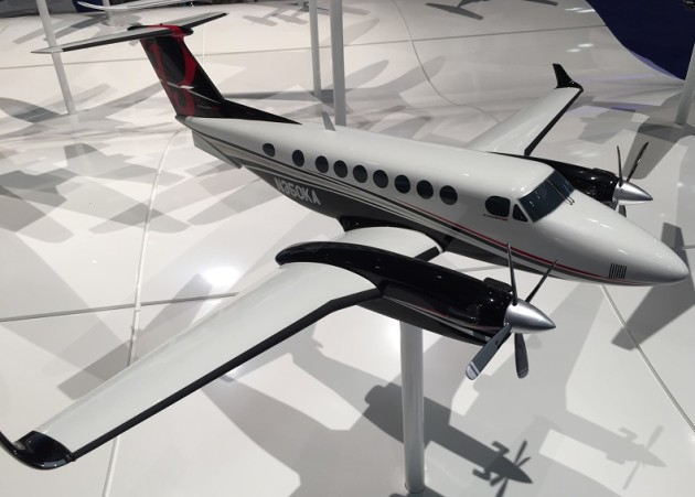 The King Air 350 is a turboprop aircraft
