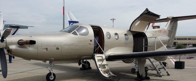 The Pilatus PC-12 is a single engine turboprop