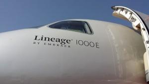 Embraer Lineage 1000E at EBACE 2014