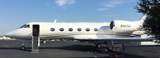 Gulfstream GV at ADS