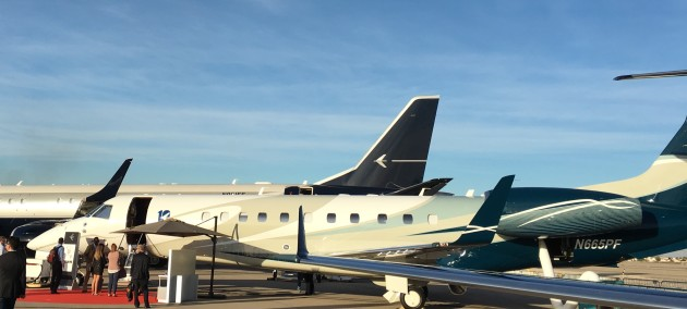 Embraer Legacy 650 at NBAA 2015