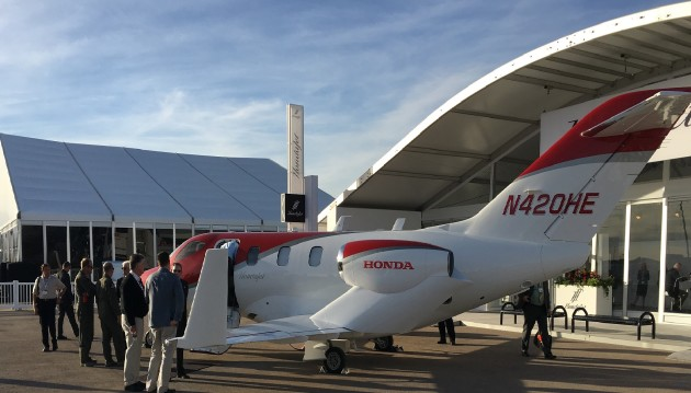 Hondajet at static display NBAA 2015