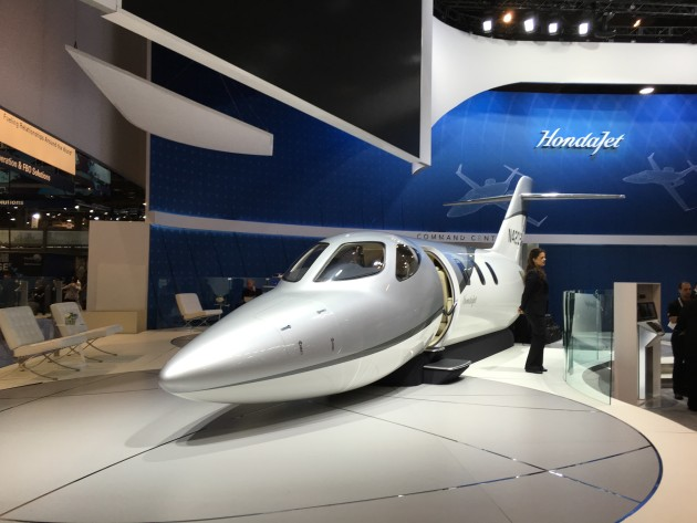 HondaJet display at NBAA 2015