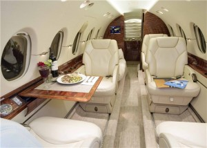 Charter a Hawker 800XP midsize jet to Super Bowl 50