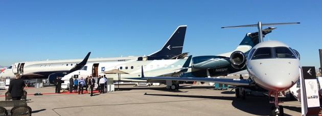 Embraer at NBAA 2015 static display