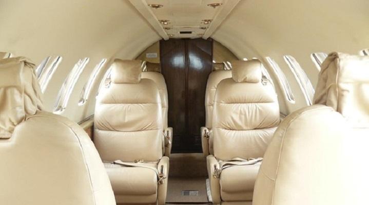 Citation V Ultra Jet Interior