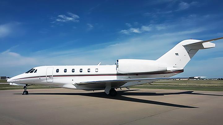 Citation X Jet Exterior