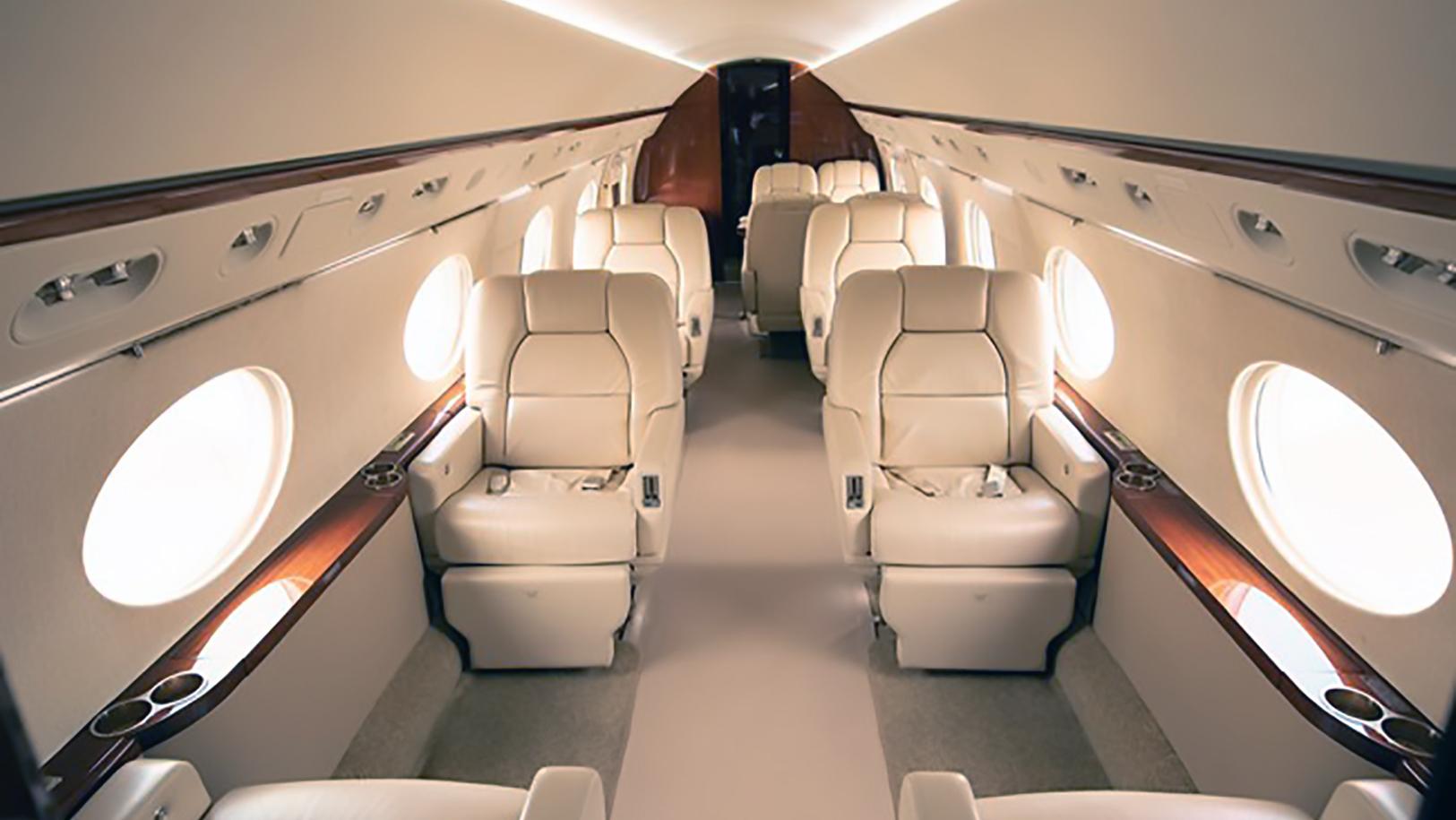 Gulfstream III Jet Interior
