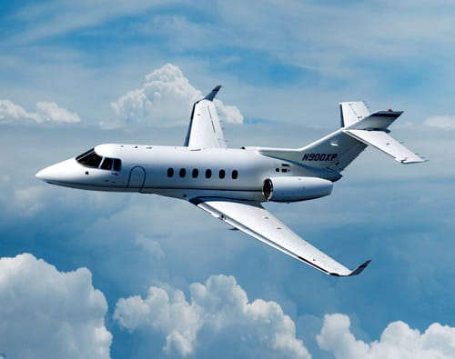 Charter a Hawker 900XP Jet from JetOptions