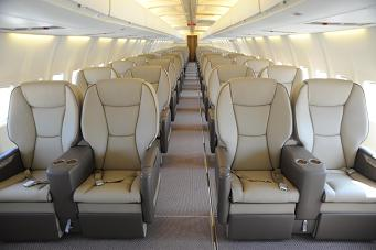 Charter a B737-400 VIP Jet from JetOptions