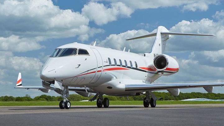 Challenger 300 Jet Exterior