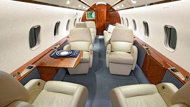 Challenger 300 Jet Interior