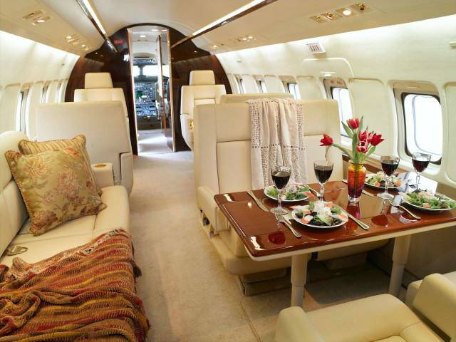 Charter a Challenger 601 Jet from JetOptions