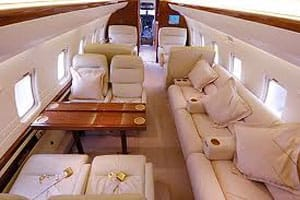 Charter a Challenger 604 Jet from JetOptions