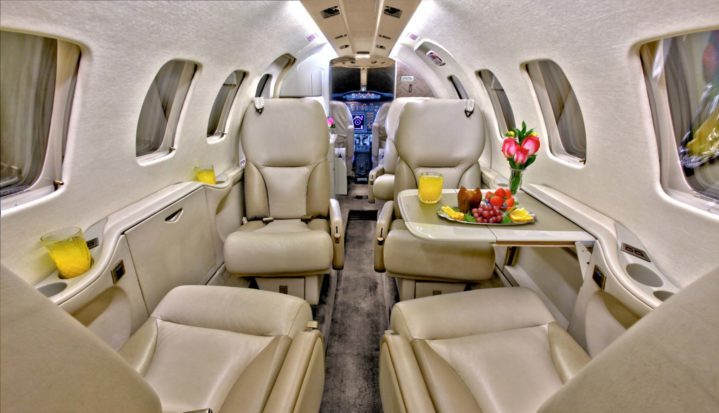 Citation Bravo Jet Interior