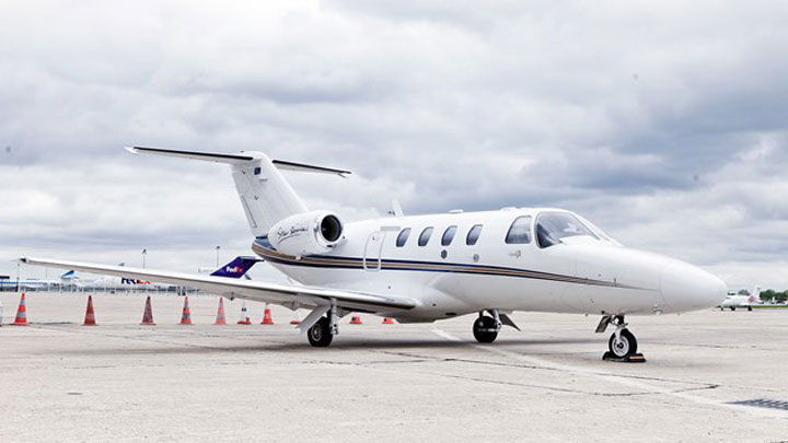 Citation Jet 1 or CJ1 Jet Exterior