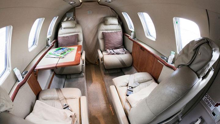 Citation Jet 1 - CJ1 Jet Interior