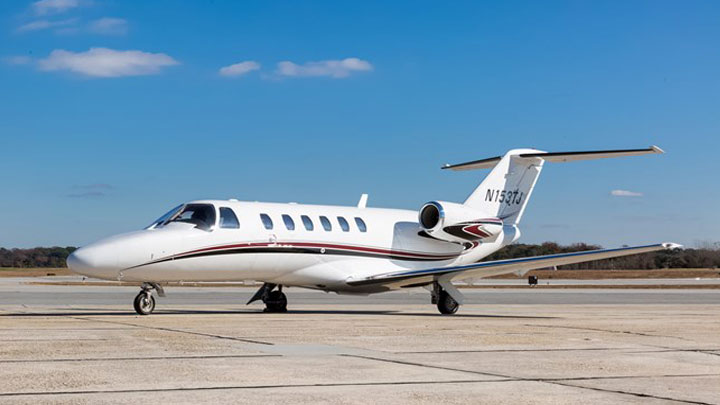 Citation CJ2 Jet Exterior